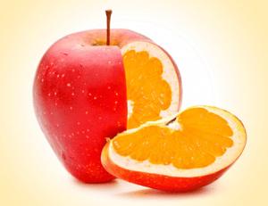 1 1 1 Apple Orange Image