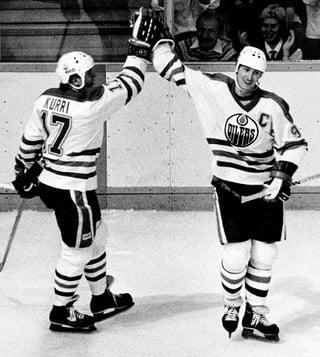 Gretzky and Kurri