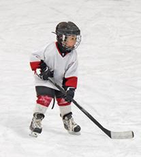 Bridgedale Academy Young Hockey Player