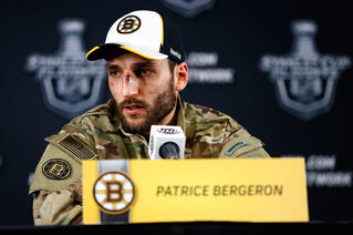 Hockey Courage Personified Patrice Bergeron