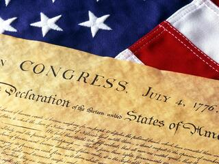 Declaration of Independence is our nation's birth certificate.