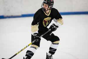 Finn Brennan On Ice