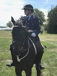 Ryan Smith on Horseback
